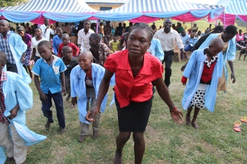 MAAYOC 2015 Adjumani Children for a creative dance