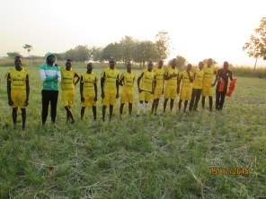 MAAYOC 2015 Adjumani football team